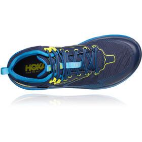 Hoka One One Toa GTX Botas Hombre, black iris/blue